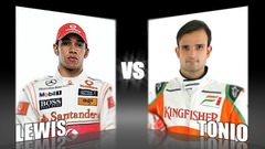 Sidepodcast: Character Cup 2010 - Round 1, Lewis Hamilton vs. Tonio Liuzzi