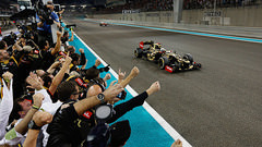 Sidepodcast: Abu Dhabi 2012 - The long-awaited victory for Lotus