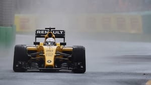 Magnussen got a huge slice of luck with the red flag