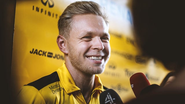 Magnussen joins Haas to race alongside Grosjean