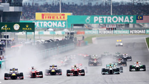 A wet start in Malaysia