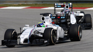 Massa finishes ahead of Bottas in Malaysia