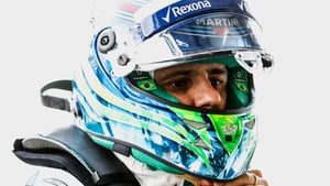 Williams top the timesheets in shortened wet session
