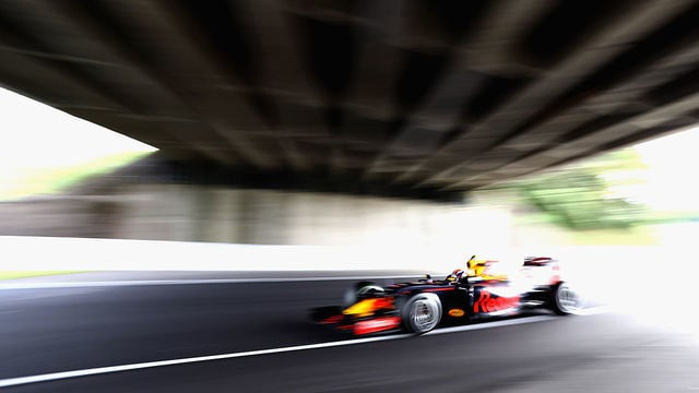 Verstappen speeds his way to second in Suzuka