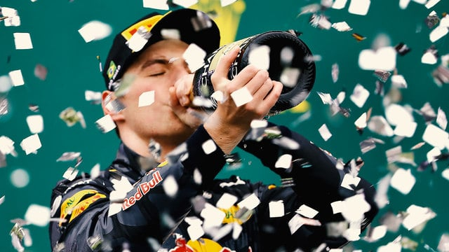 Verstappen's day, and really his season were summed up perfectly with his one error