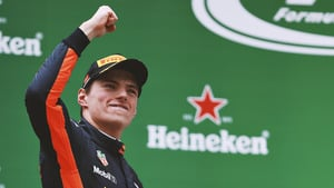 Max Verstappen chases home a place on the podium