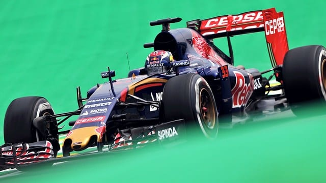 Verstappen had to make some overtakes if he wanted points