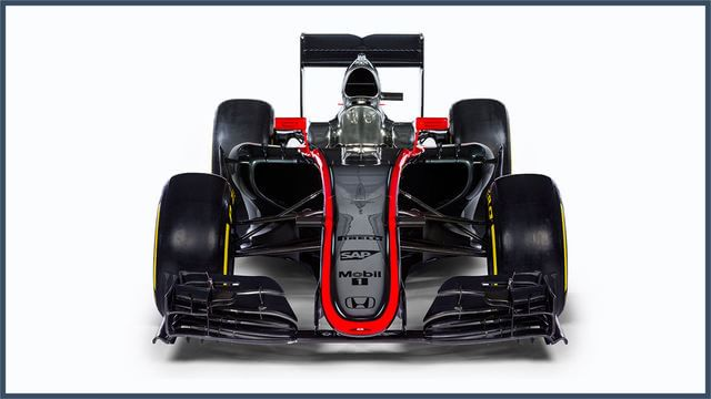 The MP4-30 will likely look very different by the first race