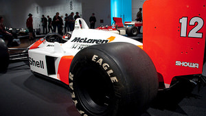 McLaren MP4/4 on display