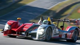 Finally, Franck returns to the track after a prolonged disappearance, and it is for the 2010 Petit Le Mans race. The Peugeot and Audi battle heads to the Road Atlanta track, with Anthony Davidson riding high after a win at Silverstone.