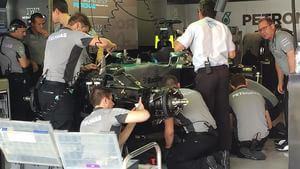 Looks like all will be well for Lewis Hamilton in quali