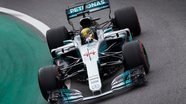 Mercedes dominate Friday practice in Brazil