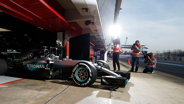Mercedes run a double driver strategy