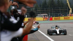 Mercedes hold steady with title lead in Belgium