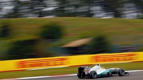 Sebastian Vettel missed out on pole position, and also managed to fall off the front row for the first time this season. Lewis Hamilton lines up alongside polesitter Mark Webber for what has the potential to be a fascinating German Grand Prix.
