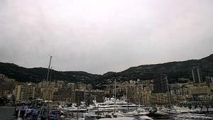 Grey skies over Monaco