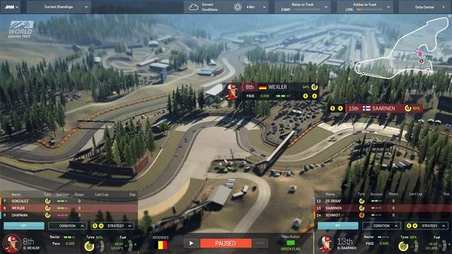 A preview of the Motorsport Manager game for desktop computers