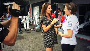 Sky talk to Claire Williams