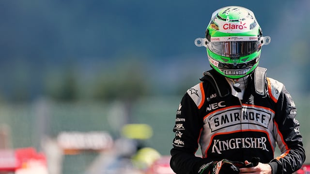Hülkenberg ran third, craving a maiden podium