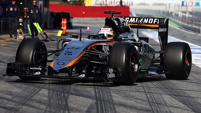 Force India reveal 2015 car at second Barcelona test