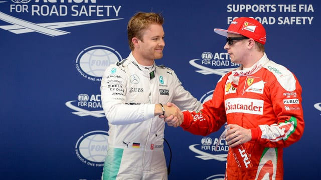 Rosberg earns China pole position as Hamilton fails to qualify