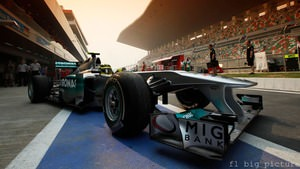 Mercedes feel confident in the car, despite low practice results