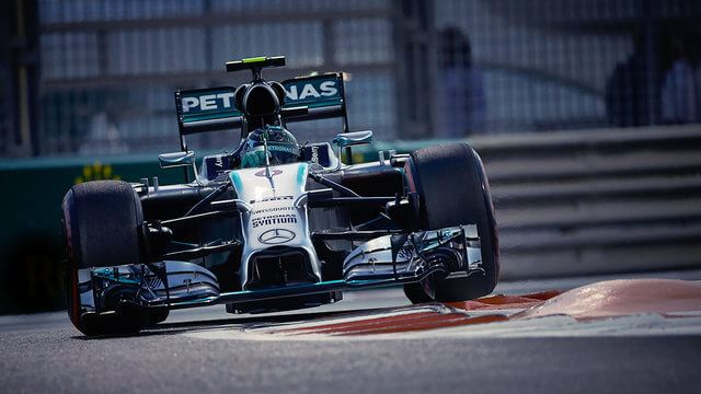 Rosberg sets up championship decider with pole position