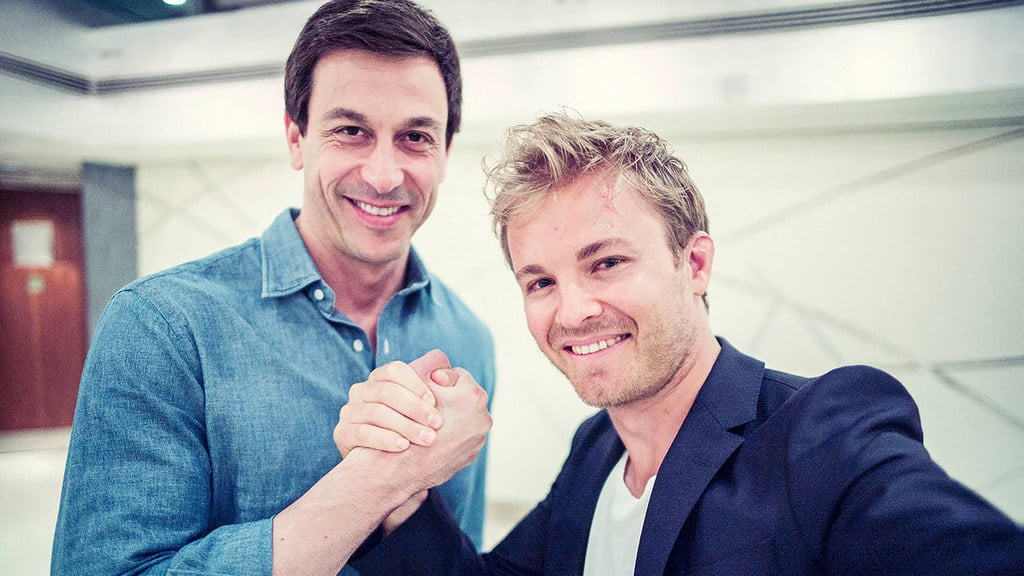 Nico Rosberg secures two year contract extension at Mercedes