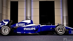 Williams reveal their 2009 livery