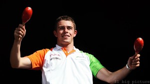 Paul di Resta ends with a smile, despite difficult weekend