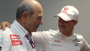 Sauber and Schumacher talk