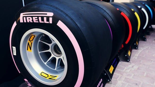 Pink hypersoft and orange superhard join Pirelli's 2018 tyre line-up