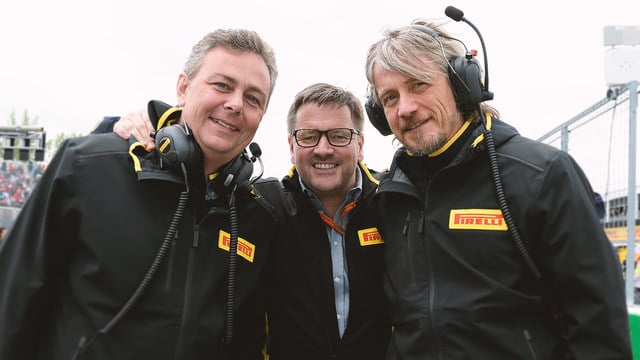 Paul Hembery changes roles at Pirelli