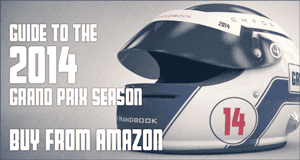 Buy from Amazon - Pocket F1 Handbook: Guide to the 2014 Grand Prix Season