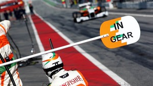 Force India refuse to read anything into F1 testing