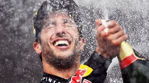 Ricciardo wins his second F1 race in Hungary
