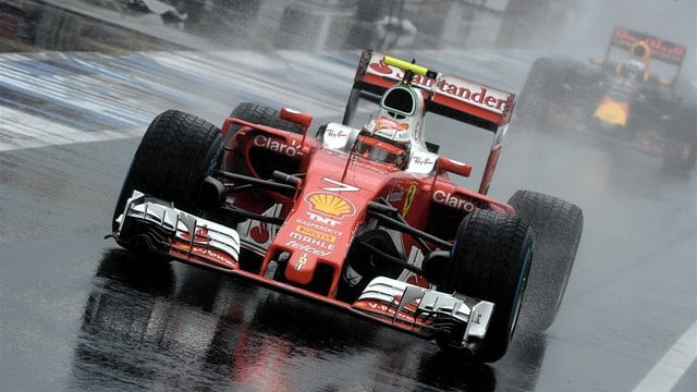 Kimi was knocked out in Q2, though more through luck than judgement