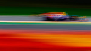 Red Bull a blur at Spa