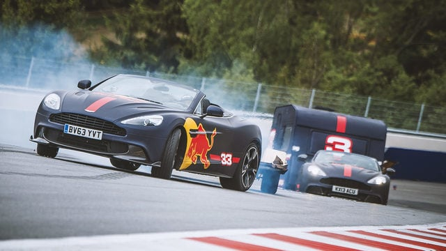 Ricciardo and Verstappen complete an unusual track day