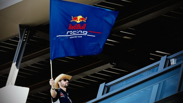 Austrian chequered flag to be waved by F1 fan