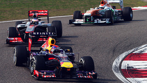 Race action in China