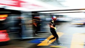 F1 teams and their drivers get that Friday morning feeling, as it's time to squeeze in 90 minutes of track action in Germany.  That is assuming the weather holds long enough for anyone to take to the track.