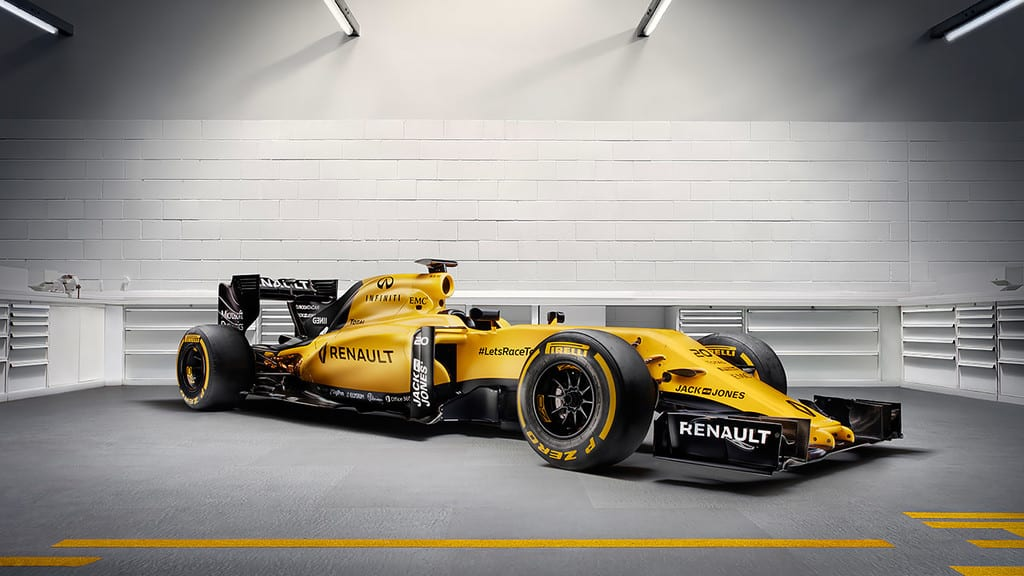 Renault reveal yellow livery for 2016 works team return