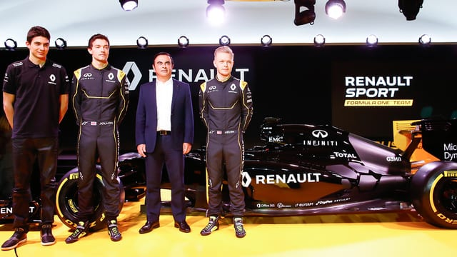Kevin Magnussen confirmed as Renault launch 2016 team