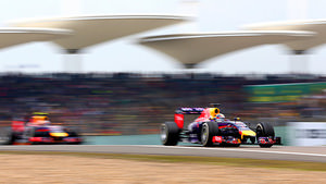 Daniel Ricciardo rounds out the top three in China