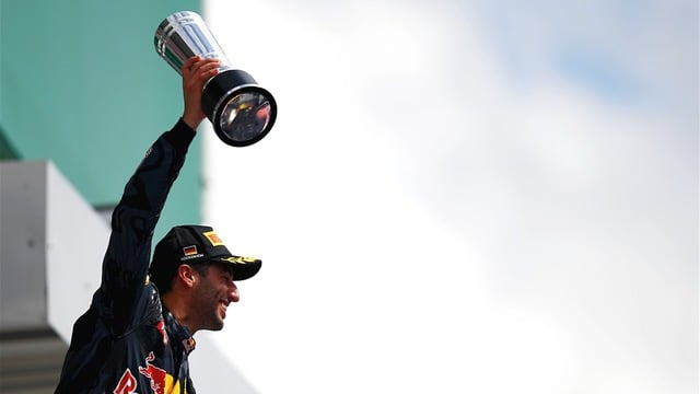 Ricciardo was consistently near the top of the timesheets throughout the weekend