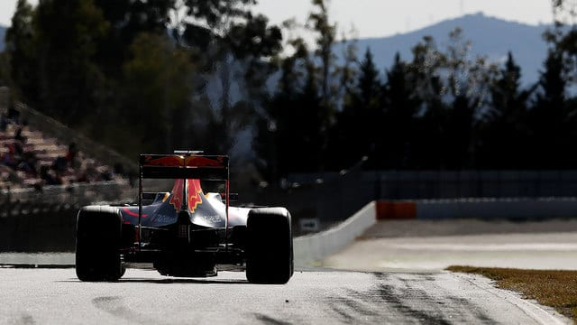 Ricciardo wraps up the test for Red Bull