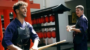 Ricciardo and Verstappen duel in Kendo battle
