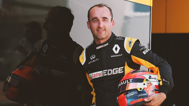 Robert Kubica drives 2017 Renault during Hungary two-day test