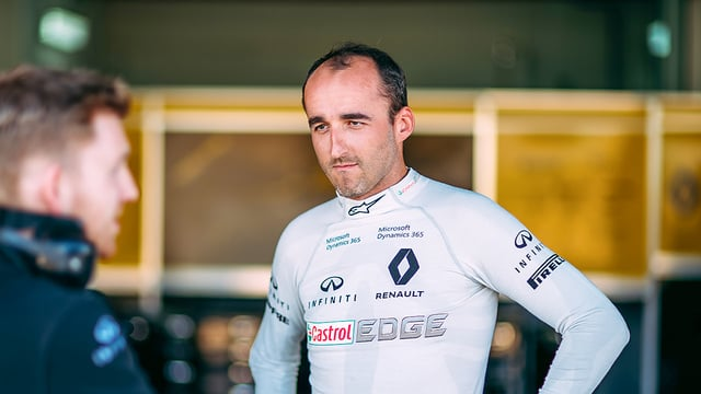 Nico Rosberg joins forces with Robert Kubica